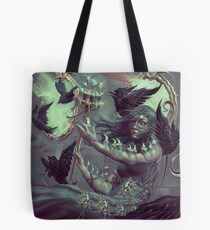 Crows, Candles Tote Bag