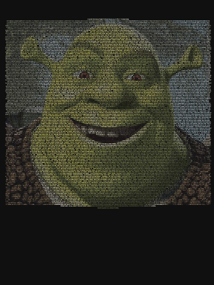 SHREK - Gesamtes Skript - Mit Shrek Face von GHDParody