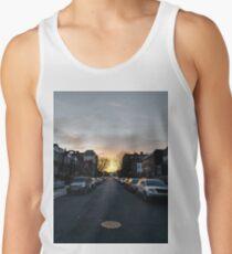 New York, Manhattan, Brooklyn, New York City, architecture, street, building, tree, car,   Tank Top