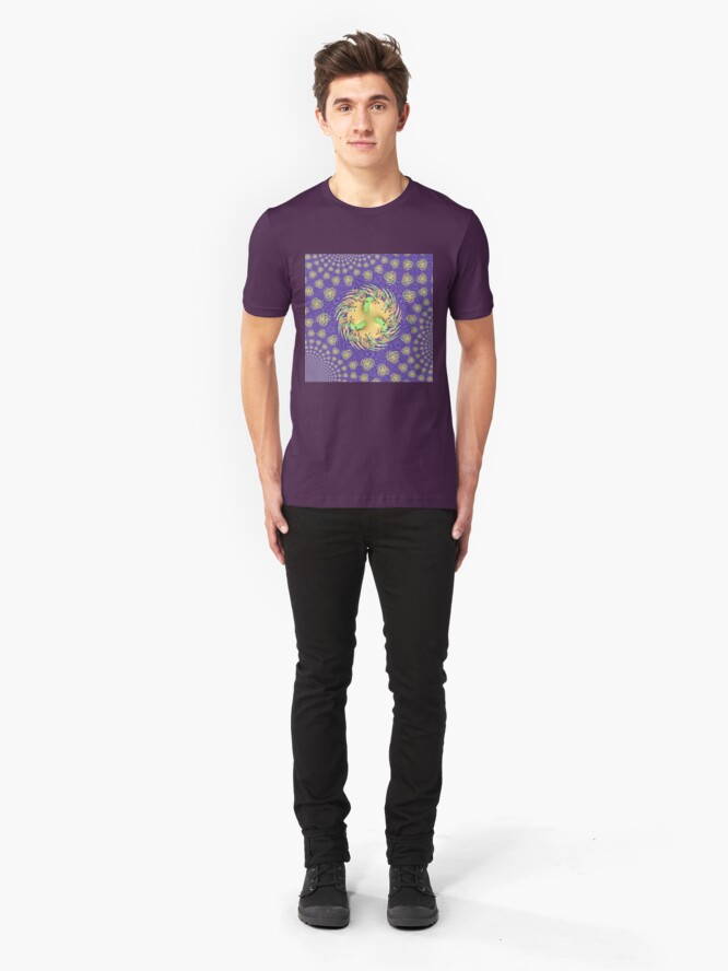 Alternate view of Moonlight Reflections Slim Fit T-Shirt