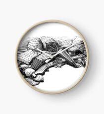 Kendo Weapons & Armor 1888 Clock