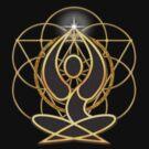 Meditation Geometry Yoga Goddess Mandala by webgrrl
