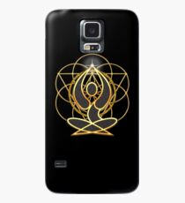 Meditation Geometry Yoga Goddess Mandala Case/Skin for Samsung Galaxy
