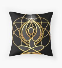Meditation Geometry Yoga Goddess Mandala Floor Pillow
