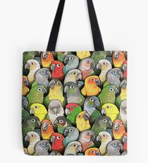 Colour of Conures Tote Bag