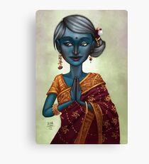 Shiva Priestess  Canvas Print