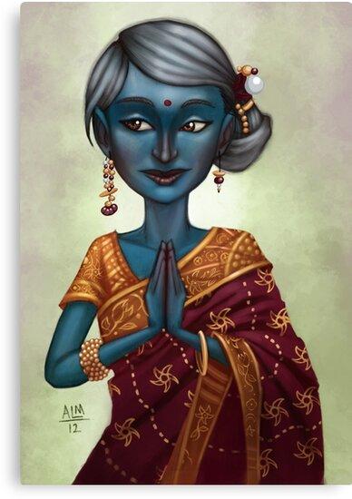 Shiva Priestess  by Anthony Mata