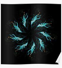 Mandala Mancy - 0095 - Drying Pole Poster