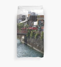 American Village Duvet Cover
