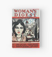 Vintage 1930s Womans Digest Magazine Hardcover Journal