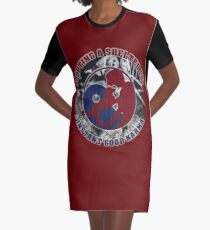 Adopt a shelter dog Graphic T-Shirt Dress