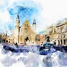 the Hague historical center by ariadna de raadt