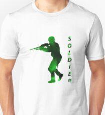 Soldier Hero Artistic Design Unisex T-Shirt