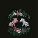 Fuck Speciesism -  Kunst für Tierrechte von Caroletta