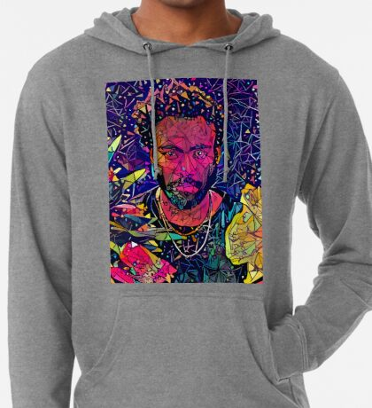 Abstract Donald Glover Lightweight Hoodie