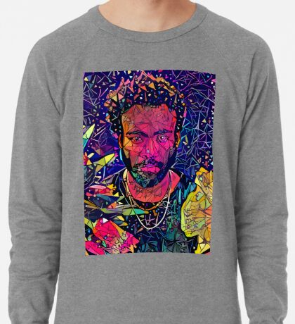 Abstract Donald Glover Lightweight Sweatshirt