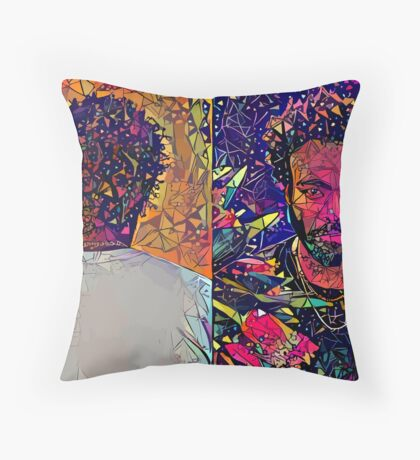 Abstract Donald Glover Floor Pillow