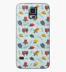 Loutres de mer portant un plaid Coque et skin Samsung Galaxy