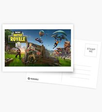 Fortnite Loading Screen Postcards