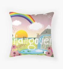 Hangover Throw Pillow