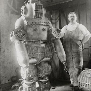 Submarine Armor by Chester E. Macduffee. by romeobravado