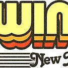 Ewing, New Jersey | Retro Stripes by retroready