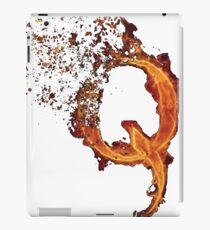 QAnon Fiery Q For Conspiracy  Lightning Theorist T-Shirt by Scralandore Design iPad Case/Skin
