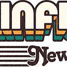 Plainfield, New Jersey | Retro Stripes by retroready