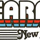 Kearny, New Jersey | Retro Stripes by retroready