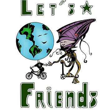 Friendship T-shirt funny, Lets friends! by phamquocdat