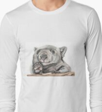 Lucy the Wombat Long Sleeve T-Shirt