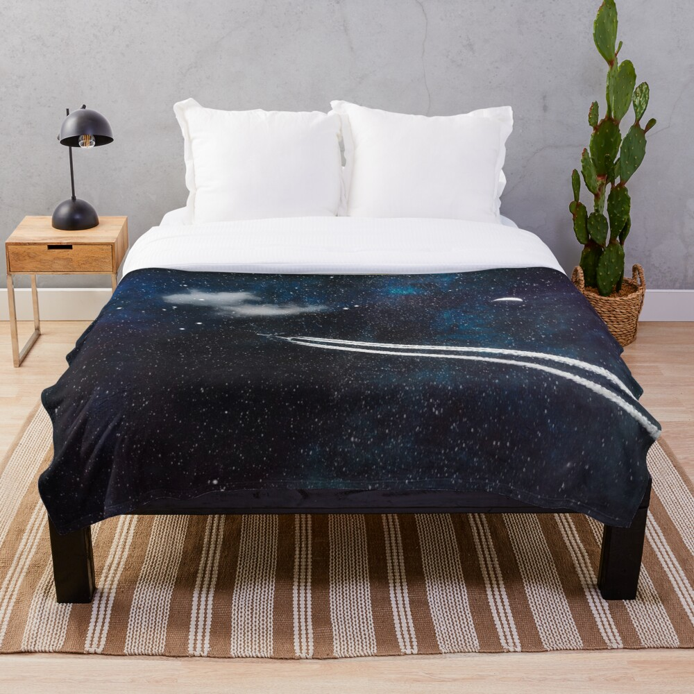 Star Traveller Throw Blanket