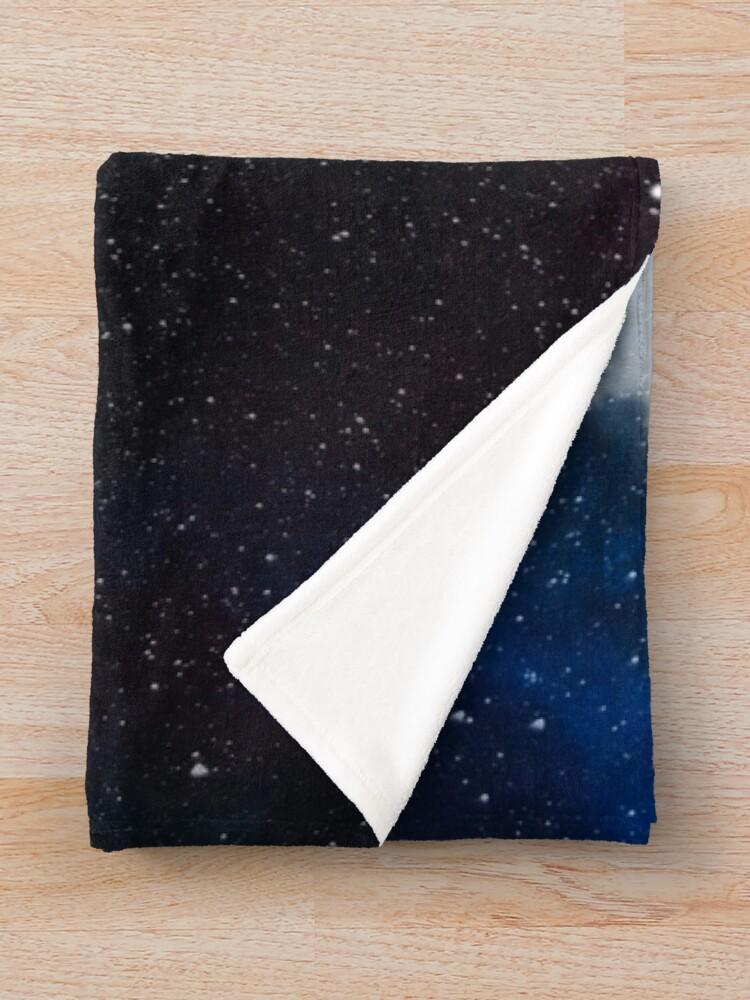 Alternate view of Star Traveller Throw Blanket