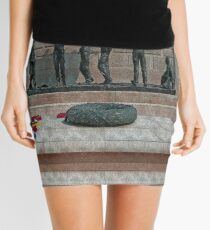 National Armed Forces Memorial Staffordshire England Uk Mini Skirt