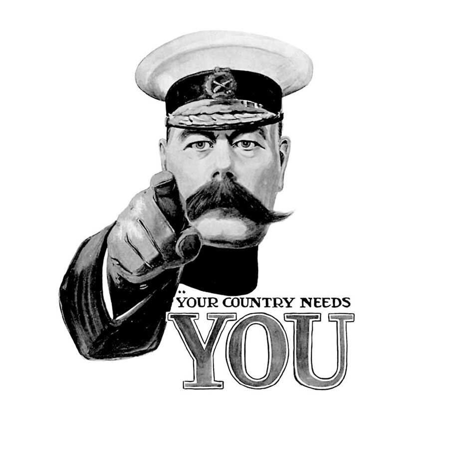 Kitchener Your Country Needs You Poster