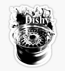 Dishy Sticker