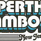 Perth Amboy, New Jersey | Retro Stripes by retroready
