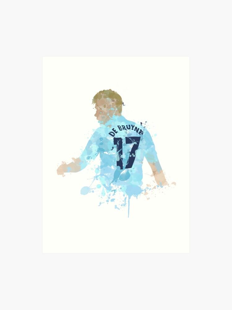 super popular 37609 53b68 Kevin De Bruyne Manchester City Legend Art | Art Print