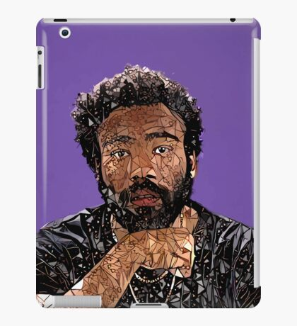 Abstract Donald Glover iPad Case/Skin