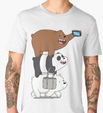 Tote Life - We Bare Bears Men's Premium T-Shirt