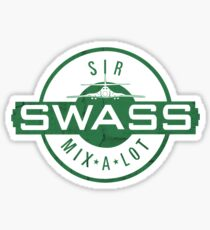 Sir Mix A Lot Swass Sticker