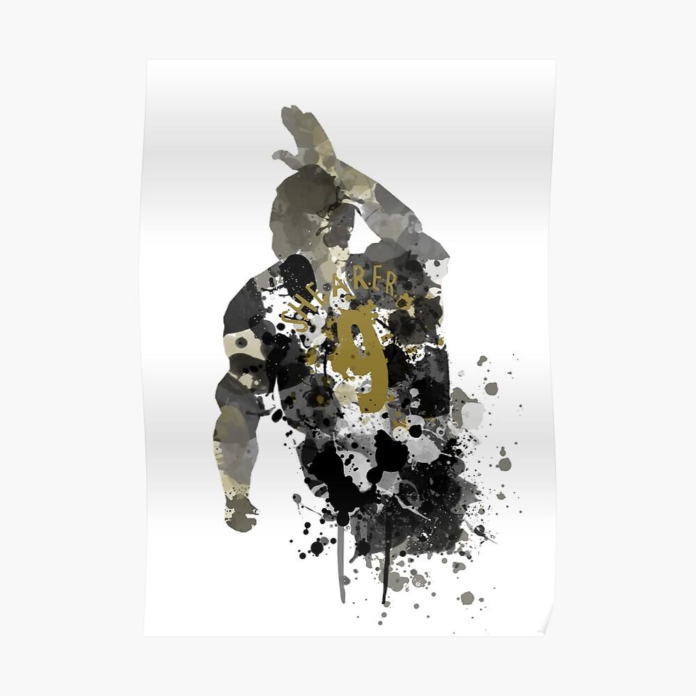 Alan Shearer Newcastle United Legende Kunst Poster
