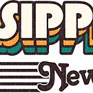 Parsippany, New Jersey | Retro Stripes by retroready