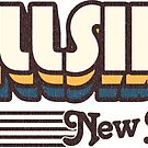 Hillside, New Jersey | Retro Stripes by retroready