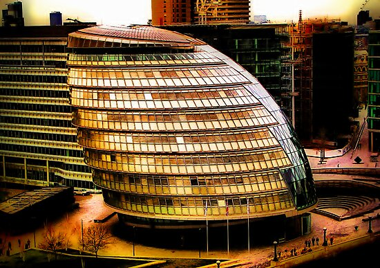 City Hall, London by A90Six
