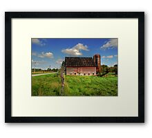 Ashtabula County Barn Framed Print