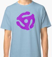 Purple 45 Vinyl Record Symbol Classic T-Shirt