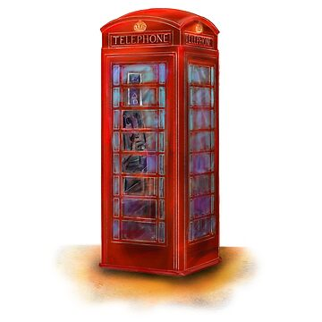 London classic phone cabin by rodoart