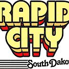 Rapid City, South Dakota | Retro Stripes by retroready