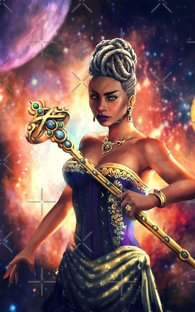 Bound Souls, Regent Lela Concept Art by NDJones